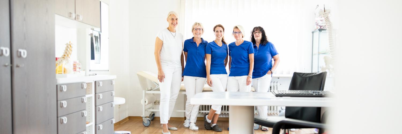 Orthopädie Leonberg - Dr. von Richthofen - das Team unserer Praxis